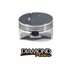 Diamond LS1/2/6 Nitrous Dome Forged Piston Set for 4.000
