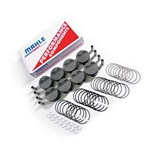 Mahle LS1/2/6 -4cc Flat-Top Forged Piston Set for 4.00