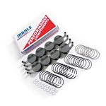 Mahle LS1/2/6 Dish Forged Piston Set for 4.00