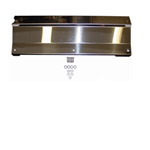 BMR Polished Stainless Radiator Cover