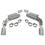 "SLP Axle-Back Exhaust, 2010-11 Camaro V8 ""PowerFlo"" w/4"" Tips"