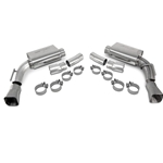 SLP Axle-Back Exhaust, 2010-11 Camaro V8