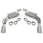 "SLP Axle-Back Exhaust, 2010-11 Camaro V6 ""PowerFlo"" w/4"" Tips"