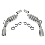 "SLP Axle-Back Exhaust, 2010-11 Camaro V6 ""Loud Mouth II"" w/4"" Tips"