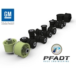 Pfadt Complete Poly Control Arm Bushing/Sleeve Kit, 5th Gen Camaro
