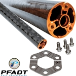 Pfadt C6 Carbon Driveshaft System (Manual, pre 2009)