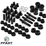 Pfadt C6Z Poly Control Arm Bushings/Sleeves (Aluminum Frame)