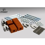 Pfadt C6Z Camber Adjustment Kit (Aluminum Frame)