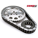 Comp Cams LS3 (w/ 58x Reluctor), Gen IV Billet, Double Roller Timing Set w/  Captive Torrington and 9 Keyway Crankshaft Sprocket (Stock Length)