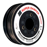 ATI Super Damper with Hub & Aluminum Shell, Stock Diameter w/ A/C Pulley, 2010-15 LS3 Camaro