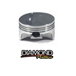 Diamond Pistons SBC/LT1 Forged Flat Top Piston set w/ -5cc Valve Reliefs, 4.00