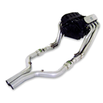 Stainless Works 2010 Camaro V8 Headers w/ High Flow Catalytic Converters, 3