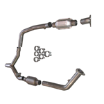 "Stainless Works 2000-02 Camaro/Firebird 2 1/2"" Y-pipe, for use with factory manifolds and shorty aftermarket headers"