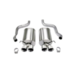 Corsa C6 Corvette Cat-Back Exhaust System w/ Four 3.5