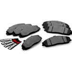 Hawk HPS Performance Brake Pads, 2008-2009 Pontiac G8 GT 6.0L (L76), Rear
