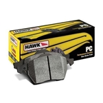 Hawk Ceramic Performance Brake Pads, 2008-2009 Pontiac G8 GT 6.0L (L76), Rear