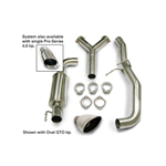 Corsa Performance Cat-Back Exhaust System, 2004 Pontiac GTO 5.7L