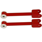 Spohn Tubular Rear Trailing Arms with Delrin Bushings