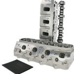 Precision Race Components CNC Ported 6-Bolt 250cc Aftermarket Casting LS3 Heads & Cam Package
