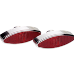 Billet Specialties LED Taillights - Elliptical
