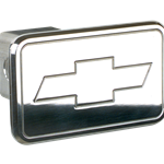 Billet Specialties Aluminum Hitch Cover - Bowtie