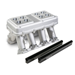 Holley EFI Hi–Ram Intake, 2 x 4500 (2 x 2000cfm sideways or inline mounting) – For LS3/L92