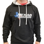 Texas Speed & Performance Black Hoodie With Logo