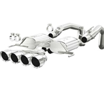 Magnaflow Stainless Steel 2-Valve Exhaust System, Excl. NPP Dual Mode Exhaust (4 Valve), Polished