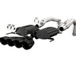 Magnaflow Stainless Steel 2-Valve Exhaust System, Excl. NPP Dual Mode Exhaust (4 Valve), Black Finish