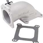 Edelbrock Low Profile Intake Elbow, Up to 90mm Throttle Body