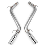 "Hooker Blackheart Axle Back Exhaust Kit 2010-2013 Camaro SS V8-6.2L 304SS 3"" Axle-Back (Without Mufflers)"