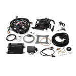 Holley Terminator Hard Core Gray LS TBI Kit - LS1, LS6, & 99-07 4.8/5.3/6.0 Truck Engines w/ 24x Reluctor