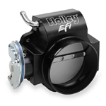 Holley Billet 90mm LS Throttle Body with Low RPM Taper