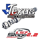 "Texas Speed Stage 2 LS7 Camshaft: 234/246 .635""/.635"", 115 LSA"