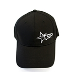 Texas Speed & Performance Black Fitted Cap with TSP Star Logo