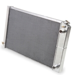 "Holley Frostbite Aluminum Radiator 68-72 GM ""A"" Body, 73-87 Chevy/GMC C10 Truck LS Swap 4.7/5.3/6.0/6.2/7.0L (3-Row) 17"" Tall Core"