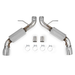 Hooker BlackHeart 70401335-RHKR Axle-Back Dual Exhaust System (With Mufflers), Auto Trans
