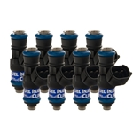 Fuel Injector Clinic 1,650cc Injector Set for LS3, LS7, L76, L92, and L99 engines (High-Z)