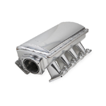 Holley 832141 Sniper EFI LS1/LS2/LS6 90mm Sheet Metal Fabricated Race Series Intake Manifold, Silver