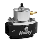 Holley 12-846 Dominator Billet EFI Two-Port Adjustable By-Pass Fuel Pressure Regulator, EFI 15-65 psi