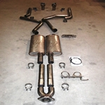 Stainless Works 2006-09 Trailblazer SS Dual Exhaust With Turbo Mufflers