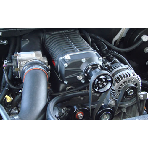 Whipple 07-13 GM Truck 6 0L SC Kit / Intercooled / 3 625