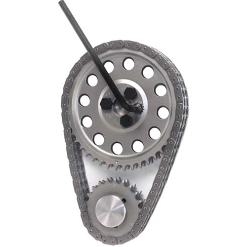 Cloyes LS1/LS2/LS6 Single-Roller Hex-A-Just True Roller Timing Set,  Includes Z06 Chain, 3-Bolt Cam