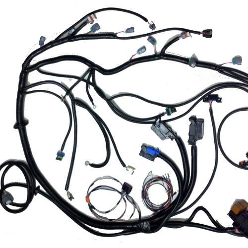 4234 psi 07 '08 lm5 lmg (5 3l) standalone wiring harness w 4l60e Aircraft Electrical Harness at couponss.co