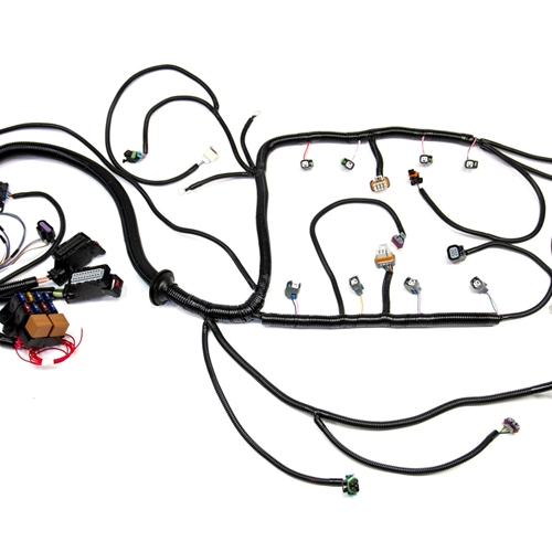 psi 08 13 ls3 6 2l standalone wiring harness w t56 tr6060 rh texas speed com wiring harness for ls3 engine in 68 camaro ls3 wiring harness conversion