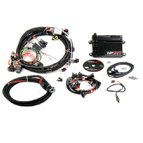 holley hp efi ecu & harness kit, gm ls1/ls6 (24x crank sensor), includes  ntk oxygen sensor