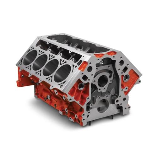 GM Performance Parts Tall-Deck Iron Bowtie Block, 9 720