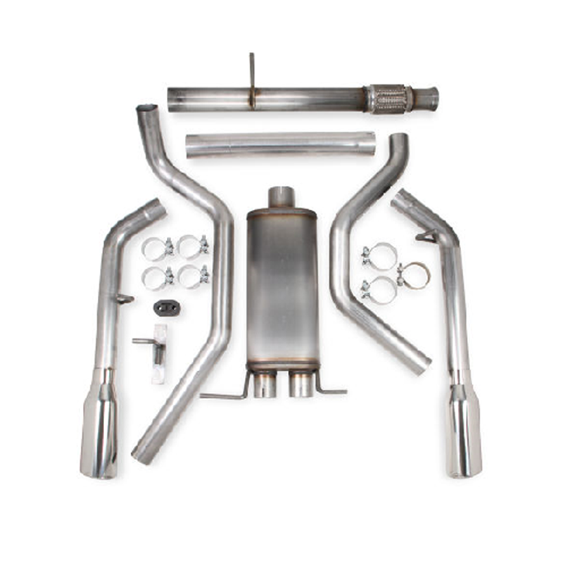 Hooker 705014136rhkr Blackheart Dual Catback Exhaust Kit 201016 Silverado Sierra: 2010 Silverado 1500 Exhaust At Woreks.co