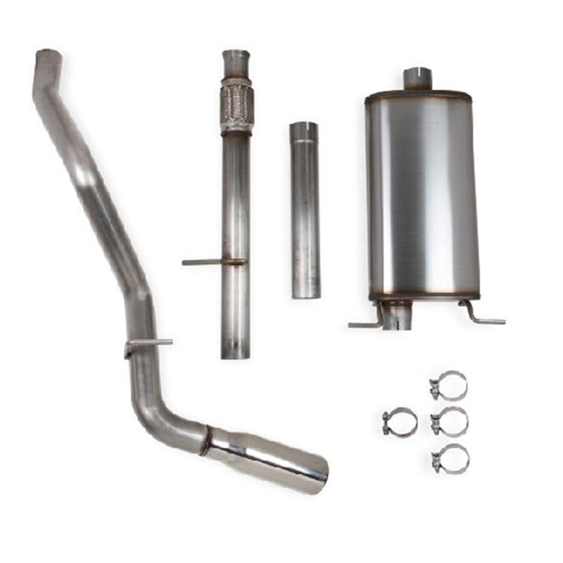 Hooker 705014132rhkr Blackheart Catback Exhaust Kit 201016 GM Silverado Sierra: 2010 Silverado 1500 Exhaust At Woreks.co
