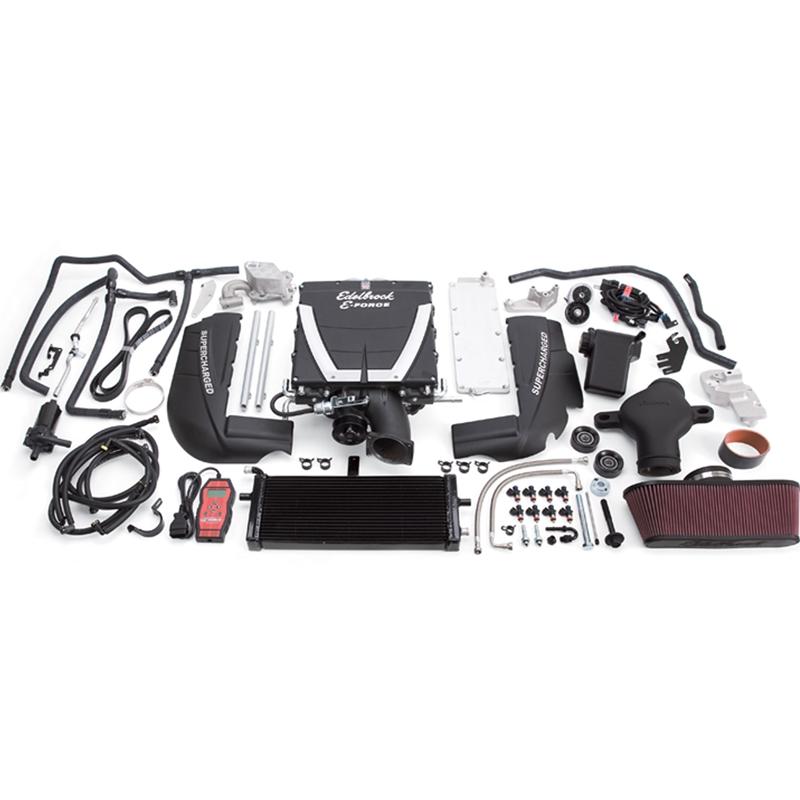 Edelbrock E-Force Complete Supercharger System, Stage 1 w/Tuner, 2010-13  Corvette Grand Sport